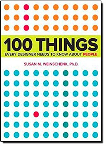 Book cover of: 100 things every designer should know about people