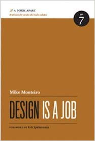 Book cover of: Design is a job