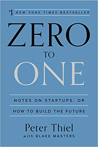 Book cover of: Zero to one